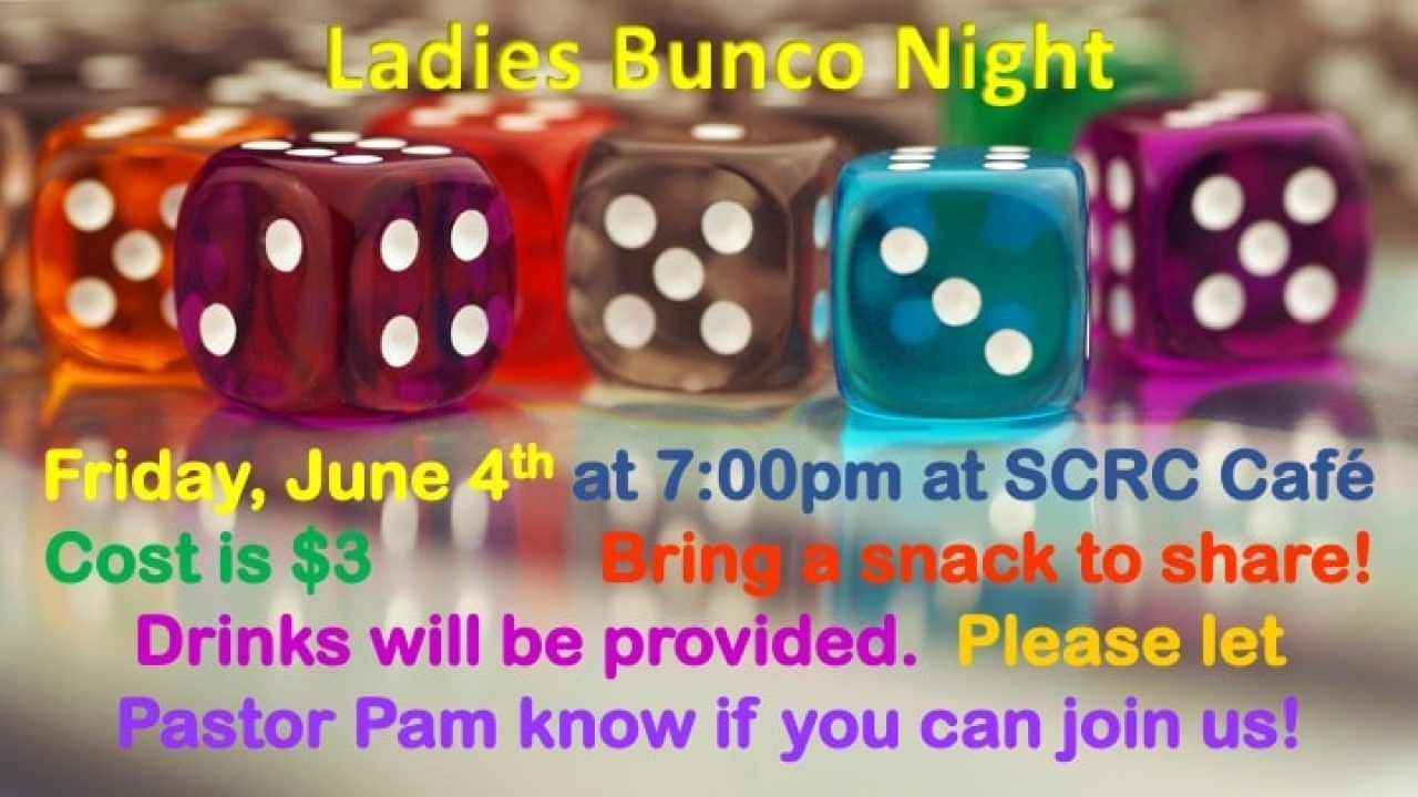 Ladies Bunco Night slide